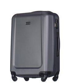 Duża walizka PUCCINI ABS04 Ibiza ciemnoszara