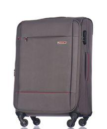 Duża walizka PUCCINI EM-50720 A Parma szara