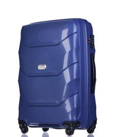 Duża walizka PUCCINI PP011 A granatowy