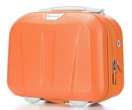 Kuferek / kosmetyczka PUCCINI ABSQM03 PARIS pomarańczowy