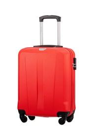 Mała walizka PUCCINI ABS03 Paris czerwona