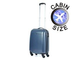 Mała walizka PUCCINI PC005 Voyager ciemnoniebieska