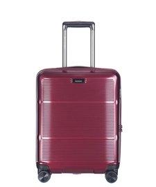 Mała walizka PUCCINI PC021 Vienna bordowa