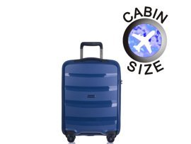 Mała walizka PUCCINI PP012 Acapulco granatowa