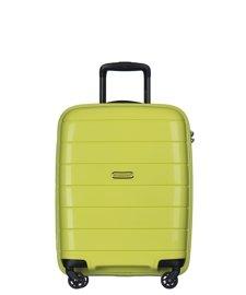 Mała walizka PUCCINI PP013 Madagaskar limonkowa
