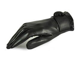 Rękawiczki damskie PUCCINI D-1479 czarne