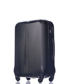 Średnia walizka PUCCINI ABS03 Paris czarna