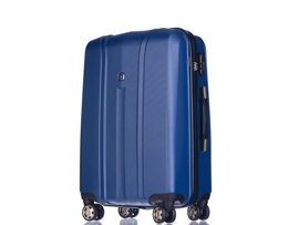 Średnia walizka PUCCINI PC018 Toronto niebieska