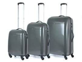 Zestaw walizek PUCCINI PC005 Voyager grafitowy
