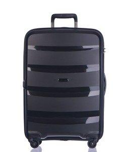 Duża walizka PUCCINI PP012 Acapulco czarna