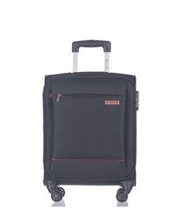 Mała walizka PUCCINI EM-50720 Parma czarna