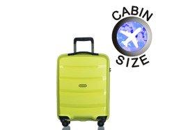 Mała walizka PUCCINI PP012 Acapulco limonkowa