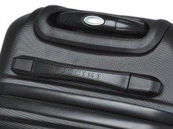Średnia walizka PUCCINI ABS02 Lizbona czarna