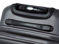 Średnia walizka PUCCINI ABS02 Lizbona szara antracyt